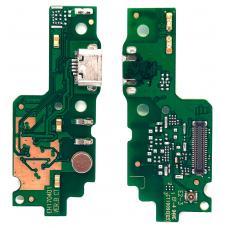 Шлейф зарядки Huawei Y6 II (CAM-L21)/ Honor 5A (CAM-AL00) микрофон