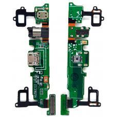 Шлейф зарядки Samsung Galaxy A8 SM-A800F /разъем гарнитуры/микрофон