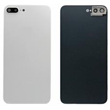 Задняя крышка для iPhone 8 Plus со стеклом камеры белая