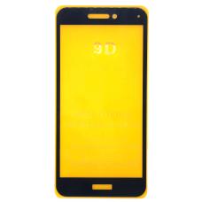 Защитное стекло полное для Huawei Honor 8 lite (PRA-TL10)/ P8 Lite 2017 (PRA-LX1) черное