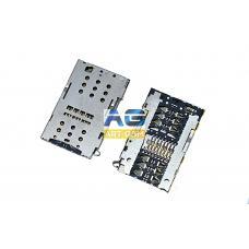 Коннектор SIM-карты (сим), mmc коннектор Meizu Note 2 (S163)