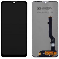Дисплей с тачскрином ZTE Blade 20 Smart V2050 черный