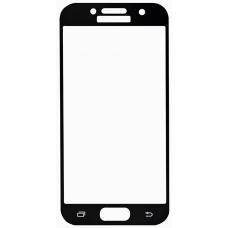 Защитное стекло полное Samsung Galaxy A3 (2017) SM-A320 черное
