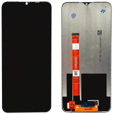 Дисплей с тачскрином Realme 5/OPPO A5 (2020)/OPPO A9 (2020) черный оригинал