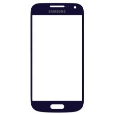 Стекло для дисплея Samsung Galaxy S4 mini GT-i9190/i9192/i9195 синее