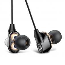 Наушники Baseus Encok H10 Dual Moving Dual Dynamic Wired Headset (NGH10-01) (black)