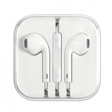 Наушники USAMS EP-22 In-Ear Square Stereo Earphone (white)
