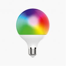 Умная лампа Zetton LED RGBCW  Wi-Fi Bulb G95 E27 15Вт