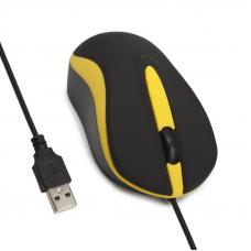 Мышь проводная Smartbuy ONE 329 USB черно-желтая
