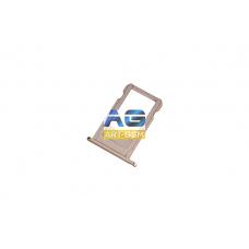 SIM лоток (Держатель сим карты) Apple IPhone 6S/Iphone 6SP Rose Gold