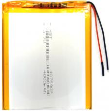 Аккумулятор Универсальный 4.0*75*90 mm 3.7v 4000mAh ( 407590P )