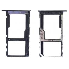 Лоток Sim-карты Meizu M6S черный