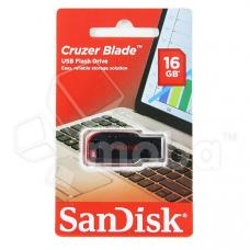 USB-флеш 16GB SanDisk Cruzer Blade Черный