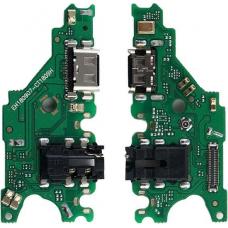 Шлейф зарядки Huawei Mate 20 Lite (SNE-LX1) разъем гарнитуры/ микрофон