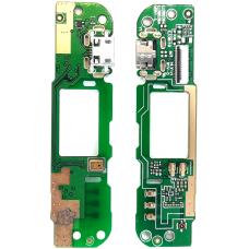 Шлейф зарядки HTC Desire 626 / микрофон