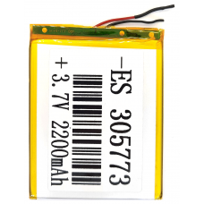 Аккумулятор Универсальный 3.0*57*73 mm 3.7v 3000mAh ( 305773P )