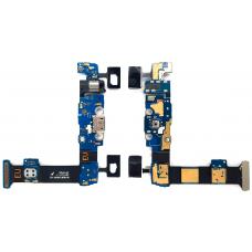 Шлейф зарядки Samsung Galaxy S6 Edge Plus SM-G928F / разъем гарнитуры / микрофон