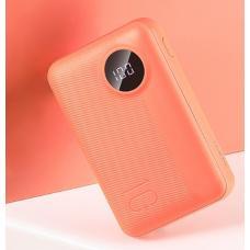 Внешний аккумулятор Rock P75 Mini Camera PD Wireless Charging Power bank 10000mAh QC (RMP0409) с беспроводной зарядкой (orange)