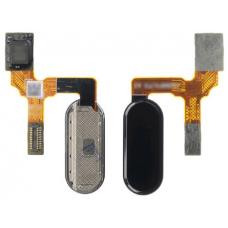 Шлейф сканер отпечатка пальца Huawei Honor 9 (STF-L09) черный