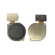 Сканер отпечатка пальца для Huawei P Smart Z/ Honor 9X/Honor 10 Lite/ P30 Lite/ Y7 Prime 2019 черный