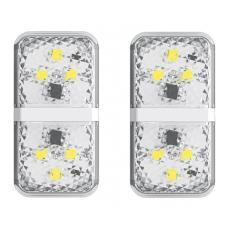 Дверная автомобильная лампа Baseus Door Open Warning Light (CRFZD-01, CRFZD-02) 2шт (white)