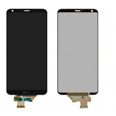 Дисплей с тачскрином LG G6 (H870DS) черный оригинал