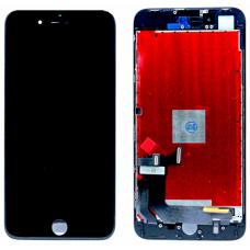 Дисплей с тачскрином для iPhone 8 Plus черный AAA
