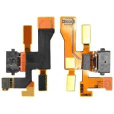 Шлейф зарядки Nokia Lumia 1020 / микрофон