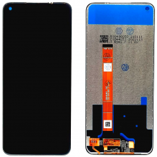 Дисплей с тачскрином Realme 7 черный оригинал