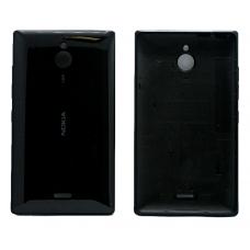 Задняя крышка Nokia X2 Dual черная
