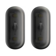 Автомобильный светильник в салон Baseus Capsule Car Interior Lights 2шт (DGXW-01) (black)