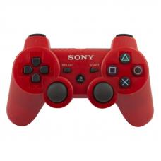 Джойстик для PS3 Dual Shock 3 (красный/коробка)
