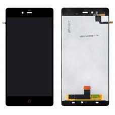 Дисплей с тачскрином ZTE Nubia Z9 Max черный
