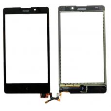 Тачскрин Nokia XL Dual RM-1030 / RM-1042 черный