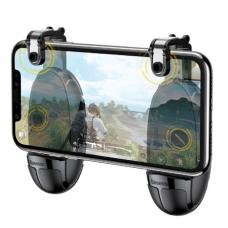 Игровой контроллер-триггер Baseus Grenade Handle For Games с держателем (ACSLCJ-01) (khaki)