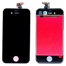 Дисплей с тачскрином для iPhone 4S черный оригинал