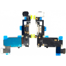 Шлейф зарядки для iPhone 6S Plus белый
