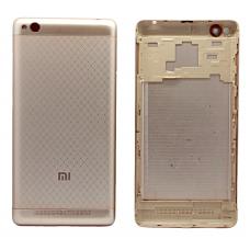 Задняя крышка Xiaomi Redmi 3 золотая