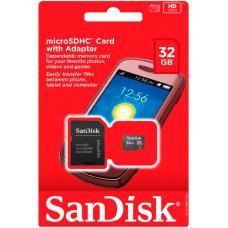 Флеш накопители SanDisk 32GB Micro SD Card