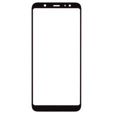 Стекло для дисплея Samsung Galaxy A6 Plus 2018 ( SM-A605 ) черное