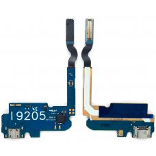 Шлейф зарядки Samsung Galaxy Mega 6.3 i9200/ i9205 c микрофоном