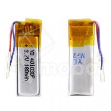АКБ универсальная 401030p 3,7v Li-Pol 200 mAh (4*10*30 mm)