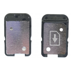 Лоток Sim-карты Sony Xperia XA F3111/E5 F3311/L1 G3311/XA Ultra F3211 (1 Sim) черный