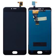 Дисплей с тачскрином Meizu M3S / M3S mini черный