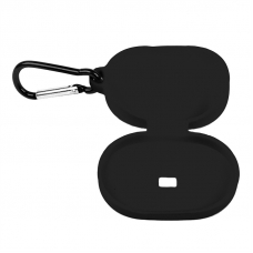 Силиконовый чехол для Redmi AirDots с карабином (черный/европакет) 2