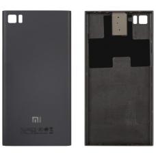 Задняя крышка Xiaomi Mi 3 черная