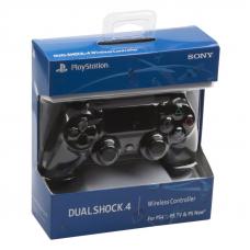 Джойстик для PS4 Dual Shock 4 (черный/коробка)