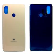 Задняя крышка Xiaomi Mi 8 золотая
