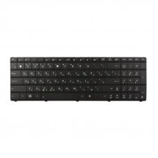 Клавиатура для Asus X54H K53 A53 N60 N61 N71 P52 P53S A52J X55V X54HR/Y (без рамки, чёрная)