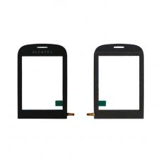 Сенсорное стекло,Тачскрин ALCATEL OT 720 Black